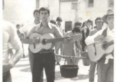 CELEBRACIÓN DE LOS QUINTOS EN BELLO. AÑO 1950. CENTRO DE ESTUDIOS DEL JILOCA
