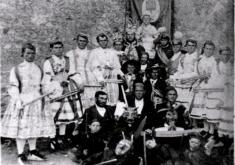 DANCE DE LA YUNTA AÑO 1914