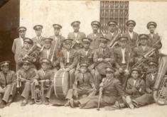 BANDA DE MALUENDA. AÑOS 30. CEDIDA POR EL CENTRO DE ESTUDIOS DEL JILOCA