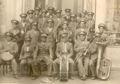 BANDA DE MALUENDA AÑO 1935. FOTO CEDIDA POR EL CENTRO DE ESTUDIOS DEL JILOCA