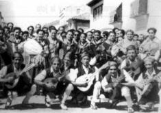 RONDALLA. MONREAL AÑO 1944. MARIANO LÓPEZ. CENTRO DE ESTUDIOS DEL JILOCA